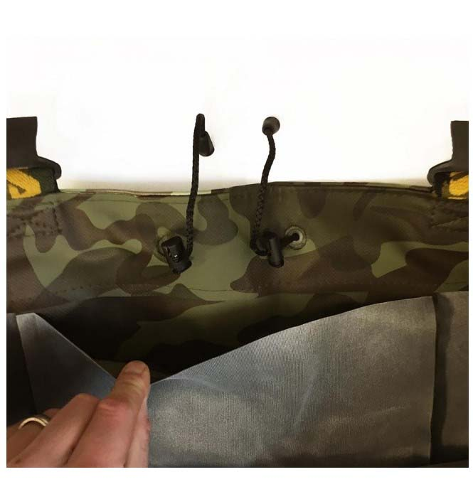 Vass E 785 Series Camo Chest Wader (waadpak)